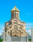 Sameba Cathedral, Tbilisi Stock Photography
