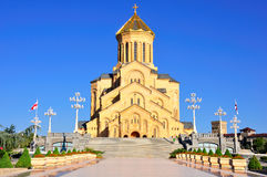Sameba Holy Trinity Cathedral of Tbilisi, Georgia Stock Photo