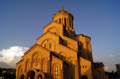 Sameba Kathedrale Lizenzfreie Stockfotografie