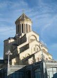 Sameba Kathedrale, Tbilisi Lizenzfreies Stockbild