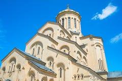 Sameba kyrka, Tbilisi royaltyfri bild