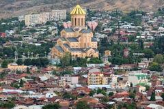 Sameba in Tbilisi Stock Photos
