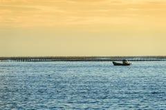 Идилличный пляж сцены на острове Samed, Таиланде Стоковое фото RF