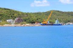 Samed Insel Stockbild