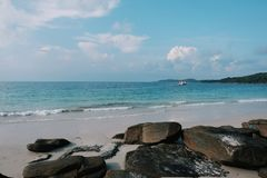 Samed Island is the best beach of Thailand . royalty free stock photography