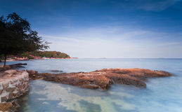 Samed Island in thailand Royalty Free Stock Photos