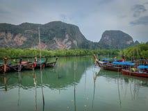 Samed Nang Chee, Phang Nga, Tailandia immagini stock libere da diritti