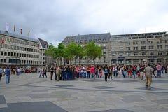 Samedi à Cologne Photo libre de droits