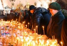 Samedi commémoratif en Ukraine Image libre de droits