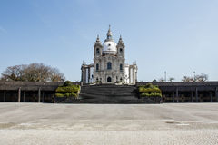Sameiroheiligdom in Braga portugal stock fotografie