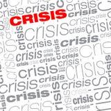 Sameless Krisen-Texthintergrund lizenzfreie abbildung