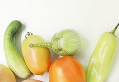 Samen gemengde groenten Royalty-vrije Stock Afbeeldingen