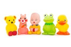 Samen heldere de kinderdagverblijven van het speelgoed, een reeks. Stock Afbeeldingen