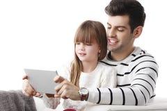 Samen onderzoekend het Web Royalty-vrije Stock Afbeelding