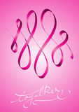 Samen tegen borstkanker Stock Fotografie