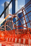 Samen vastboutend het staal van Metro Stat van Doubai Stock Afbeelding