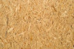 Samengeperste houten textuur Stock Afbeelding
