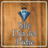 Samengesteld beeld van feliz dia del padre vector illustratie