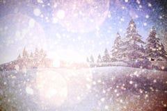 Samengesteld beeld van fonkelende sterren Stock Afbeelding