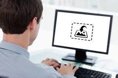 Samengesteld beeld van fotografie apps Royalty-vrije Stock Afbeelding