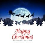 Samengesteld beeld van gelukkige Kerstmis Royalty-vrije Stock Foto