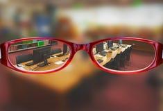 Samengesteld beeld van glazen Stock Foto's