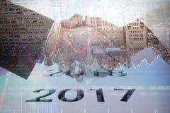 Samengesteld beeld van grafische 2016 Royalty-vrije Stock Afbeeldingen
