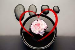 Samengesteld beeld van hart Stock Foto's