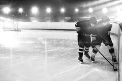 Samengesteld beeld van hockey stock afbeeldingen