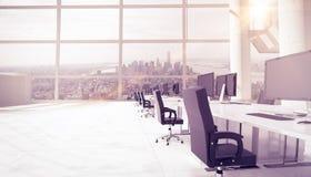 Samengesteld beeld van kantoormeubilair Stock Afbeelding