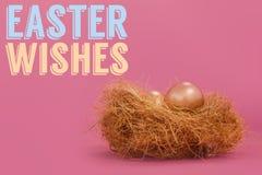 Samengesteld beeld van Pasen-groet Stock Fotografie