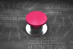 Samengesteld beeld van roze drukknop Royalty-vrije Stock Foto