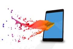 Samengesteld beeld van tabletpc Royalty-vrije Stock Foto
