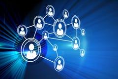 Samengesteld beeld van technologieinterface Stock Fotografie