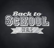 Samengesteld beeld van terug naar het bericht van schoolovereenkomsten stock illustratie