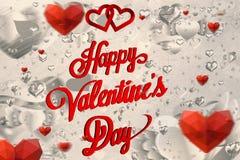 Samengesteld beeld van valentijnskaartenbericht Royalty-vrije Stock Foto