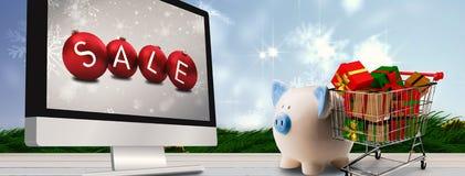 Samengesteld beeld van verkoop Royalty-vrije Stock Afbeeldingen