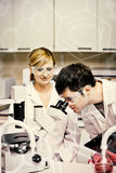 Samengesteld beeld van wetenschap en medische grafisch Royalty-vrije Stock Afbeelding