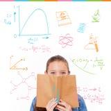 Samengesteld beeld van wiskunde en wetenschapskrabbels Royalty-vrije Stock Fotografie