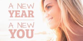 Samengesteld nieuw beeld van nieuw jaar u stock afbeeldingen
