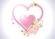 Samenstelling met bloemen Royalty-vrije Stock Foto