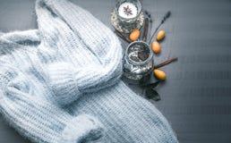 Samenstelling met een sweater Royalty-vrije Stock Afbeelding