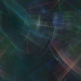 Samenstelling van abstract radiaal net Stock Foto