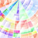 Samenstelling van abstract radiaal net Royalty-vrije Stock Afbeelding