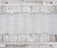 Samenstelling van de plaque van het metaalaluminium, naamplaat Stock Foto
