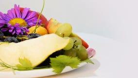 Samenstelling van Fruitbes stock video
