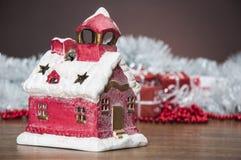 Samenstelling van Kerstmismateriaal Stock Fotografie