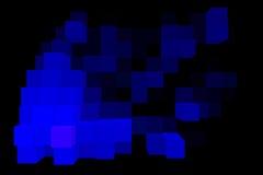 Samenstelling van kubussensamenvatting Royalty-vrije Stock Afbeeldingen