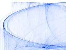 Samenstelling van lijnen in blauw Stock Foto's