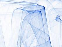Samenstelling van lijnen in blauw Royalty-vrije Stock Afbeelding